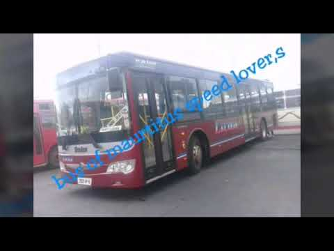 Bus of Mauritius speed lover,s