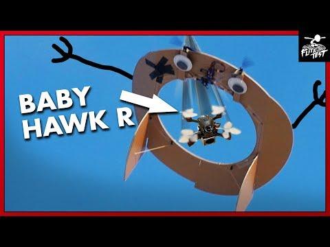 BabyHawk R - Air Gate CHALLENGE   FLITE TEST