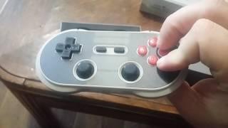 """8bitdo NES30 Pro Controller """"Crissaegrim"""" unboxing"""