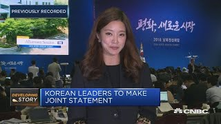 North and South Korean leaders meet in historic summit | In The News