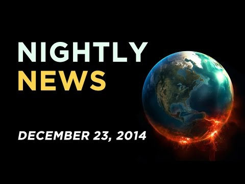 World News - December 23, 2014 - New York/Eric Garner police protests, Ferguson, Insects as food