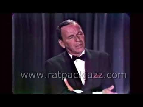 "Rare - Frank Sinatra Sings ""Angel Eyes"" On Tonight Show 1965"