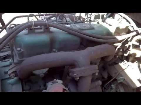 Не большой ремонт и Т О китайского грузовика.