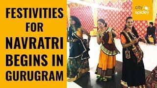 Nine-day long festival begins with garba and dandiya in Gurugram