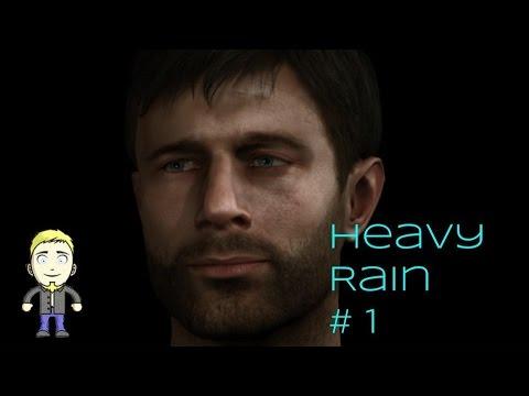 Let's Play Heavy Rain P1 - C.G.I BUTT CHEECKS