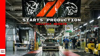2019 Dodge Challenger SRT Hellcat Redeye Starts Production