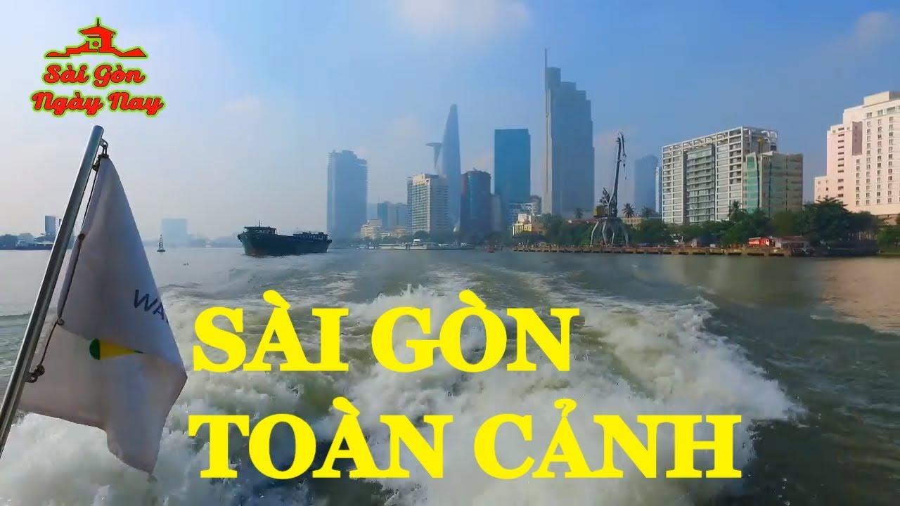Sài Gòn toàn cảnh tuyệt đẹp dưới góc nhìn của du khách trải nghiệm Tàu Bus sông | Travel Sài Gòn