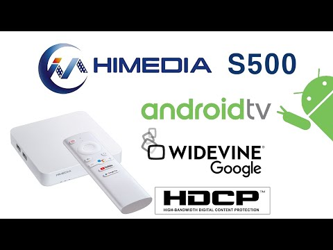 HiMEDIA S500 Fully Google Certified Android TV OS TV Box