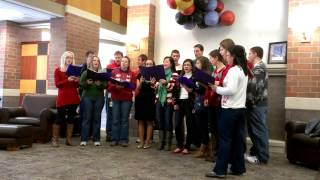 DMU choir- Joy to the world and Deck the halls