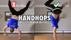 Handstand to Handhops - Most Common Mistakes