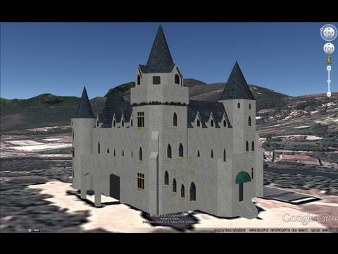 ANCIENT CASTLES, FORTS OF BRAZIL IN GOOGLE EARTH