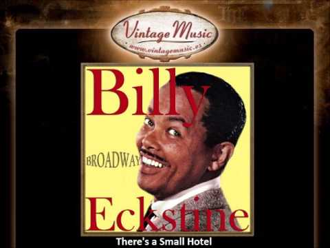 BILLY ECKSTINE CD Vintage Vocal Jazz. There's A Small Hotel , Broadway Tonight
