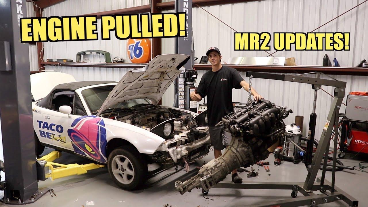 Download Engine Is Out! K-Swap Miata Build Part 1