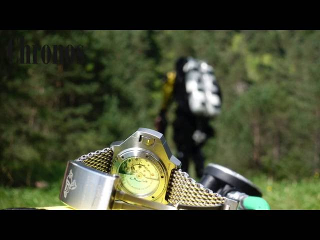 TecDive with a brand new Omega Ploprof Titan 1200M in a german mountain lake