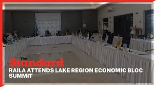 Raila Odinga joins 14-members of the lake region economic bloc governors for a summit
