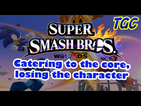 Super Smash Bros. 4 - Catering to the Core, Losing the Character   GEEK CRITIQUE