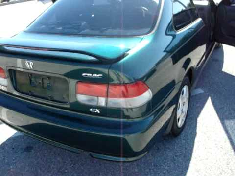 Sold 2000 Honda Civic Ex V Tec Coupe Meticulous Motors Inc
