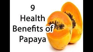 9 Health Benefits of Papaya || mexican papaya || calories in paw paw || all about papaya