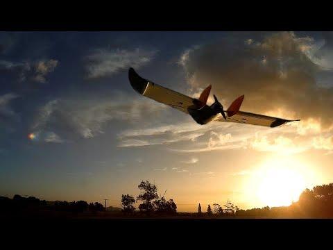 Arduplane Auto-takeoff And Auto-land Test