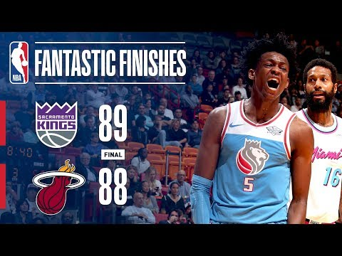The Fantastic Finish Between the Kings and the Heat in Miami | January 25, 2018