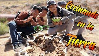 Probando COMIDA COCINADA en la TIERRA! | Huatia Boliviana