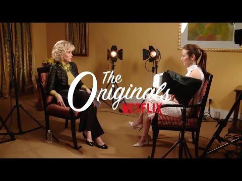 Jane Fonda y Linda Cardellini hablan de sus nuevas series en Netflix