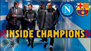 INSIDE CHAMPIONS | Napoli 1-1 Barça, all to be decided at Camp Nou...