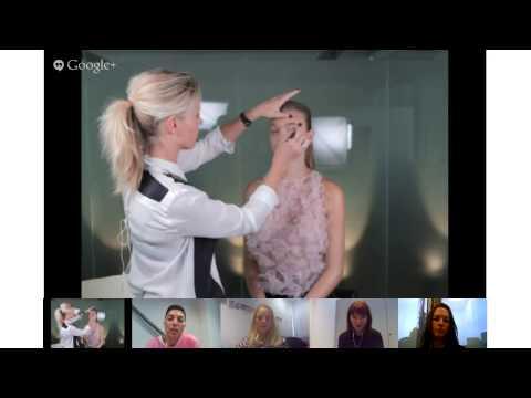 Max Factor Live make-up lesson