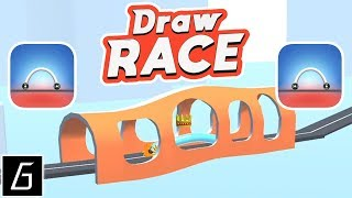 Draw Race Gameplay - First Levels 1 - 20 (iOS - Android) Video