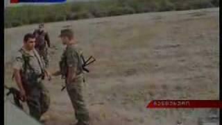 Русские против грузин.
