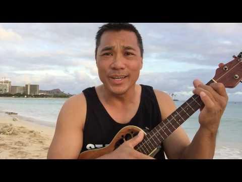 Beach & Uke: Ala Moana   Island Style (John Cruz Ukulele Cover)