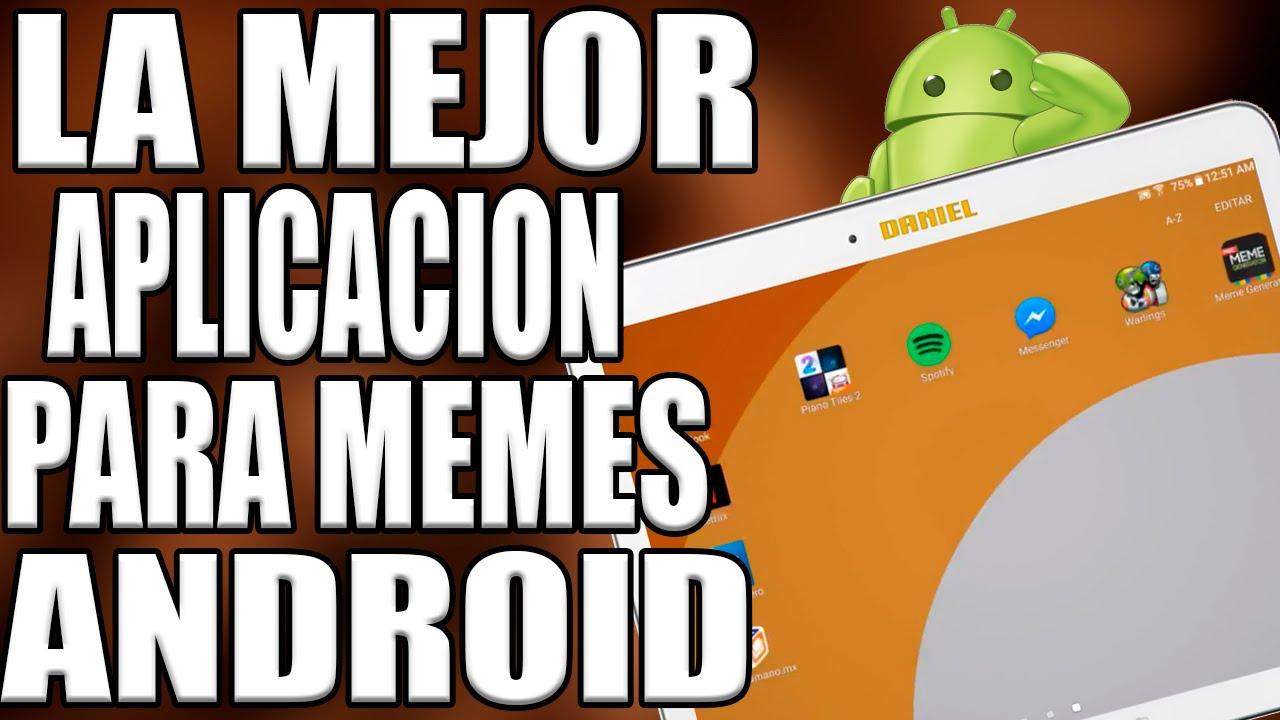 aplicaciones para hacer memes android