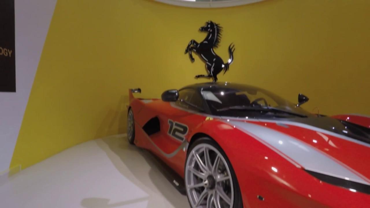 Surprise Birthday Tour Ferrari Factory Museum