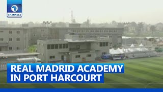 FULL VIDEO: Wike, Sports Minister Commission Real Madrid Football Academy In Rivers State