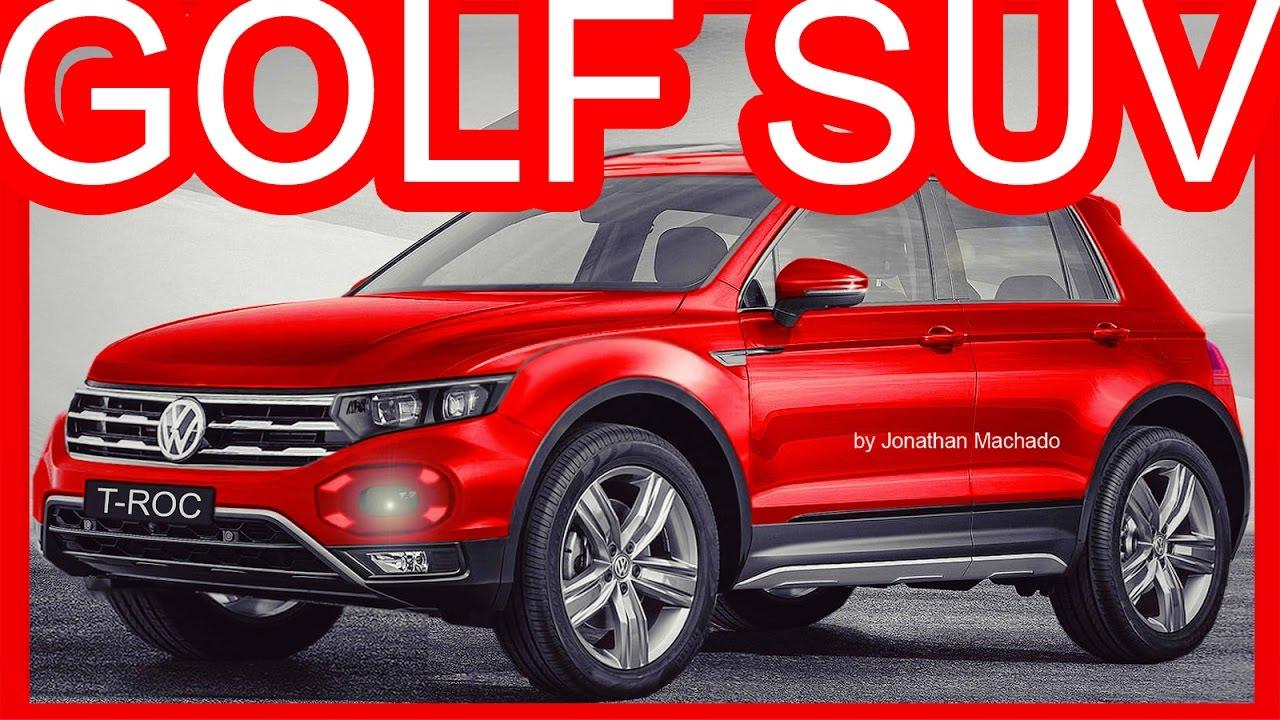 Novo Ford Focus 2018 >> PHOTOSHOP Volkswagen T-Roc 2019 Novo Fox @ Golf SUV - Rival do Honda HR-V #VW - YouTube