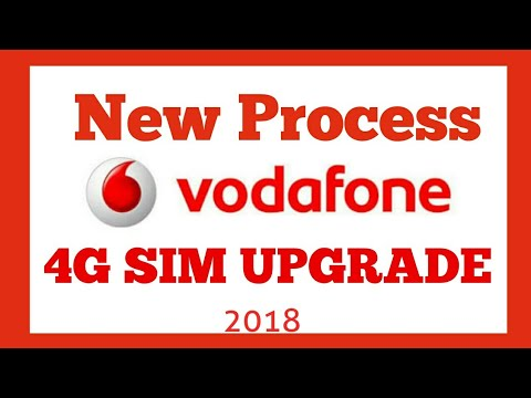 Vodafone 4G SIM Upgrade Process | Vodafone upgrade kaise kare full deatails thumbnail