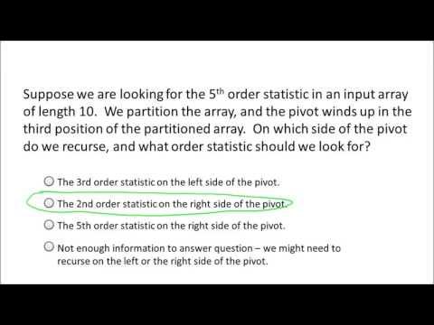 Randomized Selection - Algorithm | Algorithm