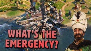 What's The Emergency? - Ottoman Empire [#4] - Civilization VI Gathering Storm