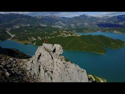 Bovilla Lake. Tirane. Albania