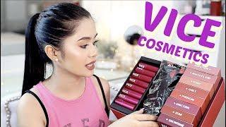 Maganda Ba Talaga? VICE Cosmetics! Review, All Swatches + CONCERT | Anna Cay ♥