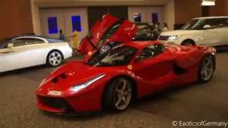 Ferrari LaFerrari in Dubai - Loud Sounds and Start-Ups!