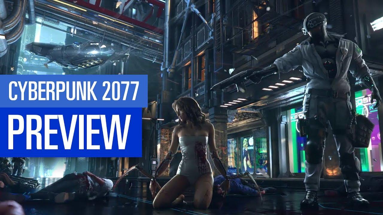 Cyberpunk 2077 News Release Gameplay Charakterklassen