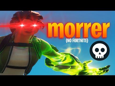 TUTORIAL DE COMO MORRER (no fortnite)