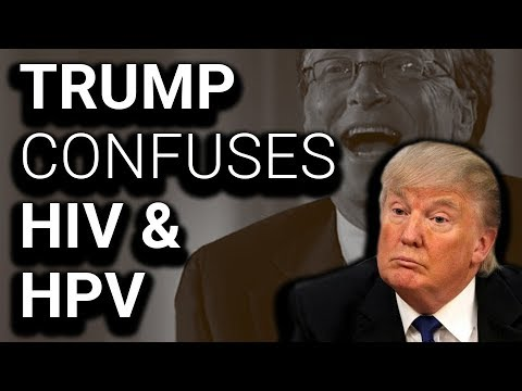 SHOCK: Trump Doesn't Know Difference Between HIV & HPV