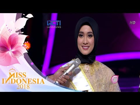 Miss Aceh 'Top 5 Pertanyaan Juri' | Miss Indonesia 2018