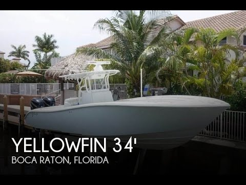 [UNAVAILABLE] Used 2005 Yellowfin 34 Offshore in Boca Raton, Florida