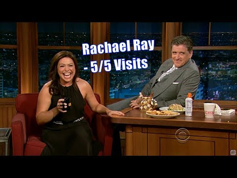 """Rachael Ray - """"Put Dark Chocolate On Anything, I'll Eat It"""" - 5/5 Visits In Chrono. Order [360-720p]"""
