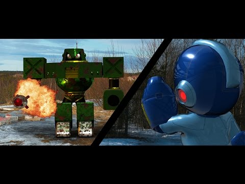 Mega Man And Pokémon In Real Life