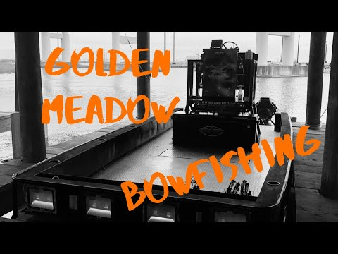 Louisiana Bowfishing In Golden Meadow