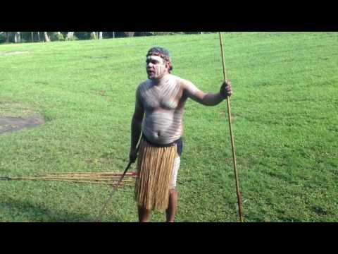 🌏 Aborigines Spear Hunting: Aboriginal Australian Shows How